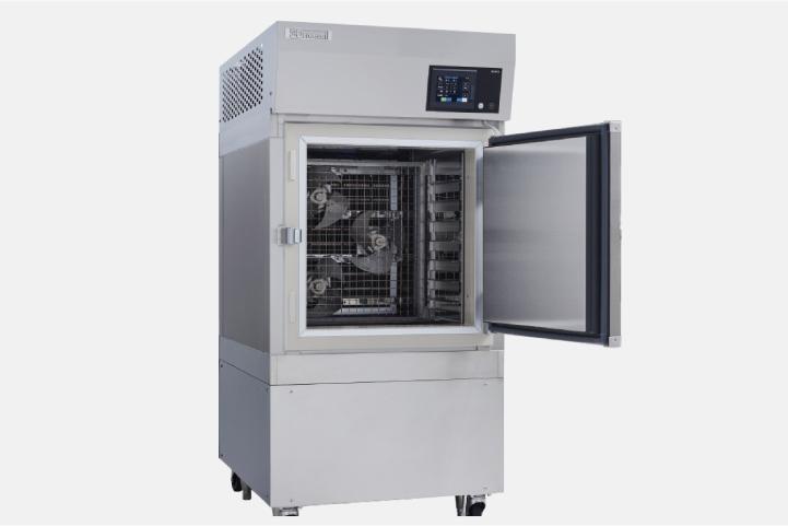 自然薯の鮮度を保つ急速冷凍設備